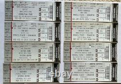 100+ Concert Ticket Stubs Collection ACDC, Madonna, The Who, Black Sabbath +MORE