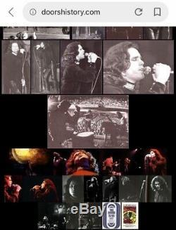 1968 The Doors Fillmore East New York Concert Ticket Stub Jim Morrison The End