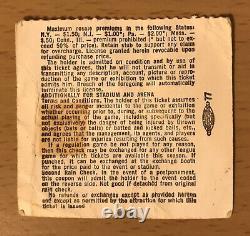 1969 The Jimi Hendrix Experience Los Angeles Concert Ticket Stub Purple Haze