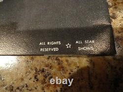 1972 ELVIS PRESLEY CONCERT 2 TICKET STUBS & PROGRAM BOOK Dayton, OH