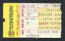 1975 Bob Dylan Rolling Thunder Revue concert ticket stub Hartford CT Desire