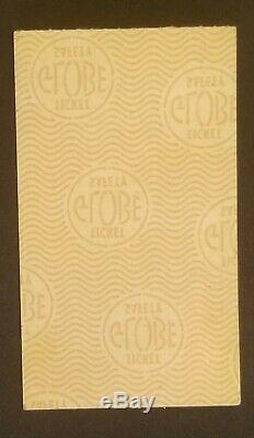 1975 Elton John Los Angeles Dodger Stadium Concert Ticket Stub Orig Sun Oct 26th