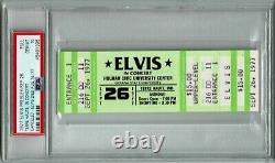 1977 Elvis Ticket Stub Concert Canceled, Elvis Died PSA GEM MINT 10
