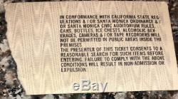 1978 Ramones Runaways Box Office Concert Ticket Stub Santa Monica CA 1/27/78 LA