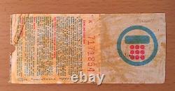 1978 Van Halen 5th Show Journey Montrose Milwaukee Concert Ticket Stub Eddie