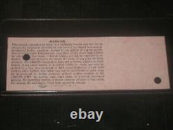 1983 Us Festival Concert Ticket Stubmetal Dayvan Halenmotley Crueozzy