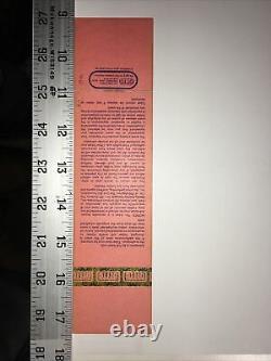 1985 Live Aid Concert Ticket 7.13 JFK Stadium M38