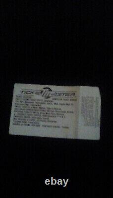 1985 Madonna concert ticket used stub. (1st concert)