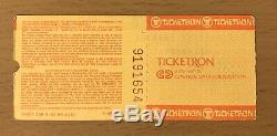 1985 Metallica / Wasp Armored Saint Cleveland Concert Ticket Stub Ride Lightning