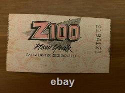 1988 Guns N' Roses/aerosmith/deep Purple Giants Stadium Concert Ticket Stub