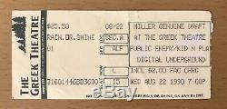 1990 Digital Underground With Tupac Shakur Los Angeles Concert Ticket Stub 2pac