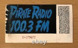 1991 Nirvana Hole Dinosaur Jr. Hollywood Concert Ticket Stub Kurt Cobain Bleach