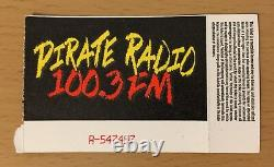 1991 Nirvana Hole Dinosaur R Hollywood Concert Ticket Stub Kurt Cobain Nevermind