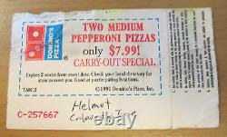 1992 Nirvana Portland Nevermind Tour Concert Ticket Stub Kurt Cobain Dave Grohl