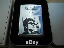 1999, Bob Dylan Zippo Lighter +paul Simon, Mgm Grand Las Vegas Concert Ticket Stub