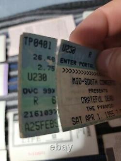20 x Vintage Grateful Dead Concert Ticket Stub Lot 1990's
