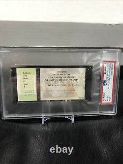 2005 50 Cent Concert Ticket Stub Verizon Wireless Amphitheatre PSA 4 Pop 1