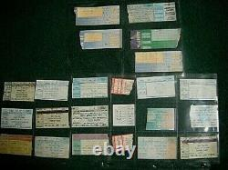 23 Concert Ticket Stubs Lot Springsteen Waterboys Raitt Police Sting Stones ++