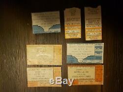(64) Concert Ticket Stubs San Antonio Texas Rush Ac/dc Kiss Judas Priest krokus