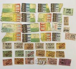 80/82 Reggae LA Concert Ticket Stub Lot Wailers Twinkle Brothers Roxy Whisky Ska