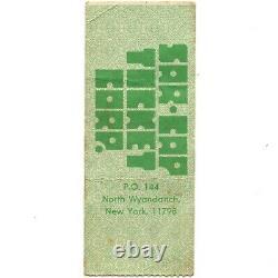 AC/DC & CHEAP TRICK Concert Ticket Stub CORAL GABLES FL 8/13/78 BON SCOTT Rare