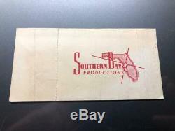ALICE COOPER UNUSED Concert Ticket Stub December 22, 1973 TAMPA STADIUM FLORIDA