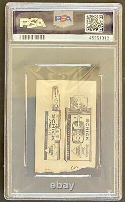 Aug 17 1965 Authentic The Beatles Concert Ticket Stub Maple Leaf Gardens PSA