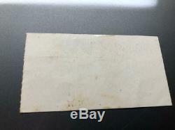 BEATLES Concert Ticket Stub September 11, 1964 GATOR BOWL JACKSONVILLE FLORIDA