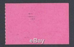 BEATLES Original 1964 CONCERT TICKET STUB Seattle Pink