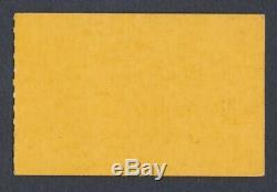 BEATLES Original 1964 CONCERT TICKET STUB Seattle Yellow