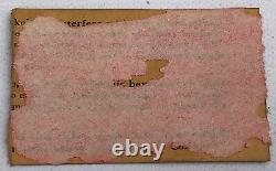 BLACK SABBATH / VAN HALEN 1978 Portland Oregon CONCERT TICKET STUB Never Say Die