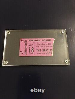 Beatles Concert Ticket Stub 8/18/66 Boston Ma 1966 Lennon McCartney