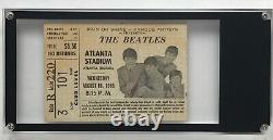 Beatles Concert Ticket Stub Atlanta Stadium Georgia Vintage Aug 18 1965 Mint
