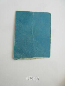 Beatles John Lennon One To One Concert Ticket Stub 1972 New York City Rare MSG