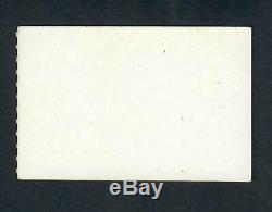 Beatles Original 1964 Seattle Concert Ticket Stub Near Mint