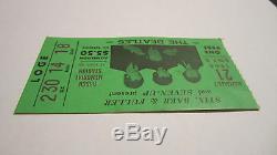 Beatles Original Concert Ticket Stub Beatles Image St. Louis Busch Stadium 1966