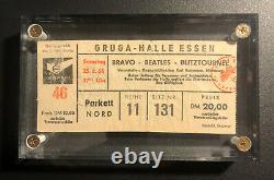 Beatles Ticket Stub From June 1966 Essen West Germany Concert Super Scarce
