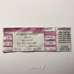 Belly RADIOHEAD Visage Orlando FL Concert Ticket Stub Vintage September 24 1993