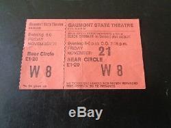Black Sabbath Concert Ticket Kilburn November 21st 1975 Full Ticket With Stub