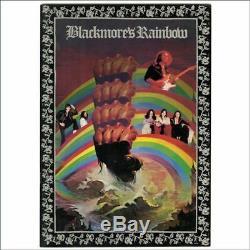 Blackmores Rainbow 1976 Nippon Budokan Concert Programme & Ticket Stub (Japan)