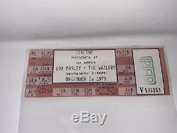 Bob Marley & (and) The Wailers-1979 RARE Concert Ticket Stub (Du Arena) Feyline