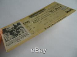 CREAM Original 1968 Super Rare CONCERT TICKET STUB Eric Clapton L. A. Forum