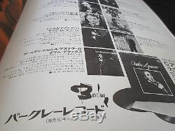 Charles Aznavour 1972 Japan Tour Book Signed Copy w Ticket Stub Concert Program