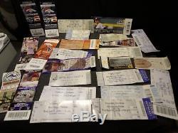 Concert & Sport Ticket Stub Lot 200+ Phish Disco Biscuits Broncos & More! Bv$$$$