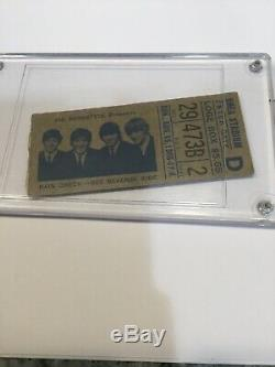 Concert Ticket Stub & Booklet Beatles at Shea Stadium Ticket Aug 15, 1965