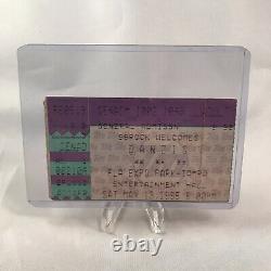 Danzig Marilyn Manson Korn Entertainment Hall FL Concert Ticket Stub May 13 1995