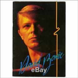 David Bowie 1978 NHK Hall Tokyo Concert Programme & Ticket Stub (Japan)