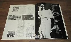Deep Purple 1972 JAPAN tour book & TICKET STUB! Richie Blackmore CONCERT PROGRAM