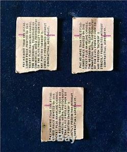 Elvis In Concert Ticket Stubs