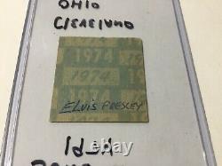 ELVIS June 21, 1974 Cleveland Ohio Concert Ticket Stub